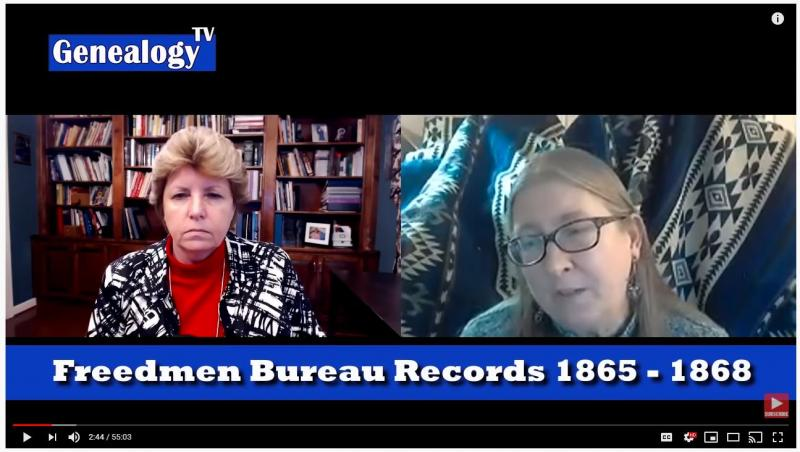 Freedmen's Bureau Records with Diane L. Richard